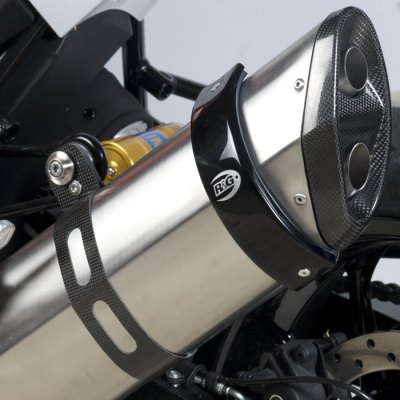 """R/&G RACING ROUND OEM Exhaust Protector 4.5 /"""" 2011 5.5  BMW F800 R"""