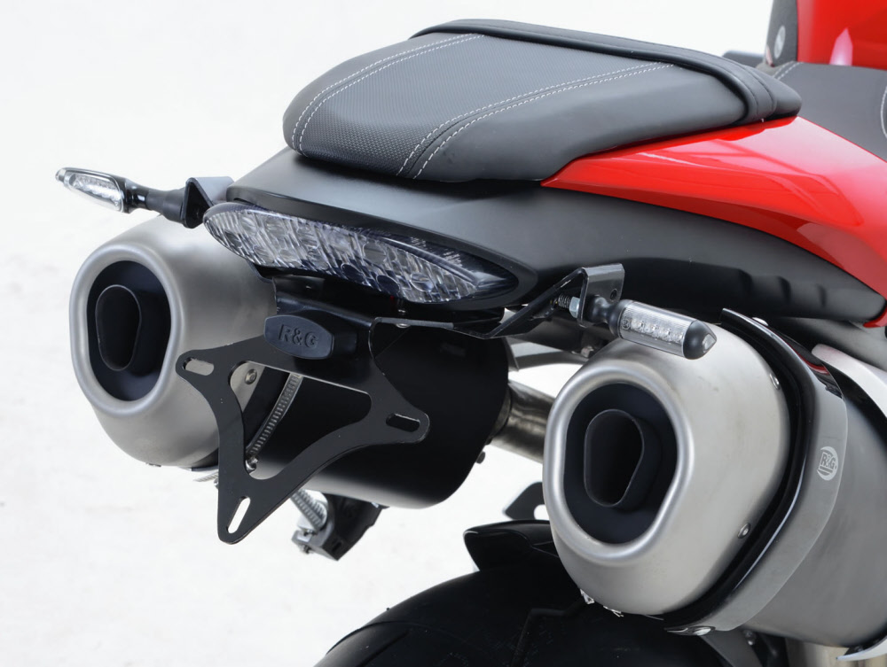 2013-2015 R/&G RACING  BLACK  NUMBERPLATE HOLDER Honda CBR500R