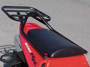 REN7344B Renntec Carrier//Sports Rack Honda CBF125 Black